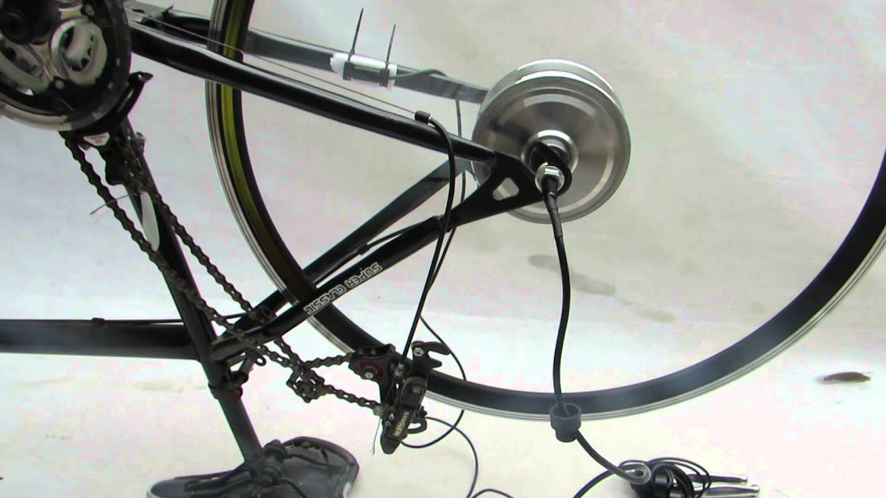 700c inch 36v 250w rear hub motor electric bike kit item for Electric bike rear hub motor