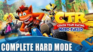 Crash Team Racing: Nitro-Fueled - Complete Hard Mode for the Plat!