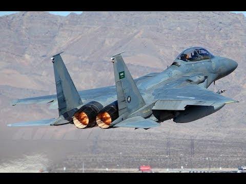 Houthis hit Saudi F-15 warplane | March 21st 2018 | Yemen