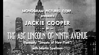 Crime Drama Movie - Streets of New York -  The Abe Lincoln of 9th Avenue
