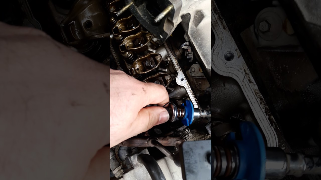 how to replace a valve cover gasket on v6 ford mustang part 1  [ 1280 x 720 Pixel ]