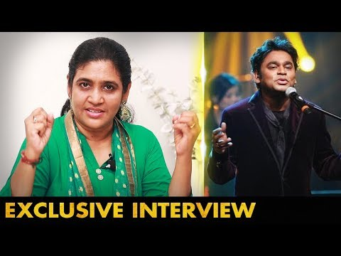 Award கிடைத்ததை முதலில் நான்தான் சொன்னேன் | Music Director, Singer  A.R.Raihanah Interview |National