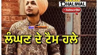 Waddi Gal Amar Sehmbi status || Amar sehmbi new song WhatsApp status 2019