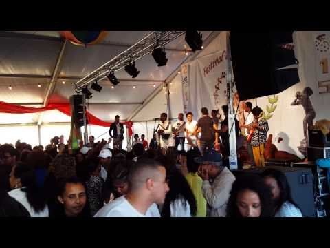 Henok Teklay Nago and AsserBand at 2015 Eritrean Festival Scandinavia, Sweden
