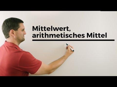 Mittelwert, arithmetisches Mittel, Urliste, Rangliste, Statistik | Mathe by Daniel Jungиз YouTube · Длительность: 2 мин35 с