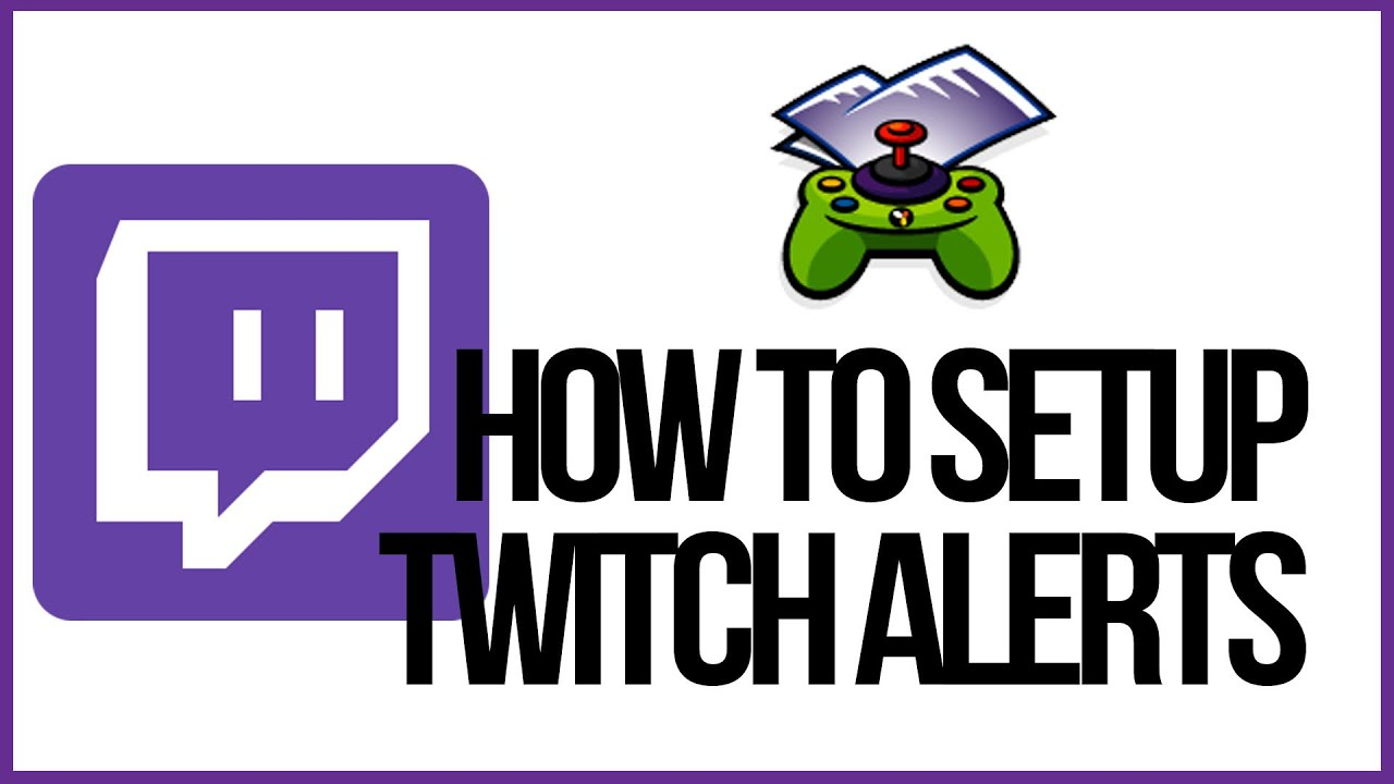How To Setup Twitch Alerts In OBS - Follower And Subscriber Notifications