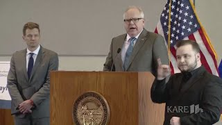 Raw: Gov. Tim Walz Answers Questions On Coronavirus In Minnesota