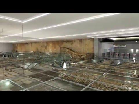 Μετρό Θεσσαλονίκης: Η λύση του σταθμού ΒΕΝΙΖΕΛΟΥ με ανάδειξη των αρχαίων