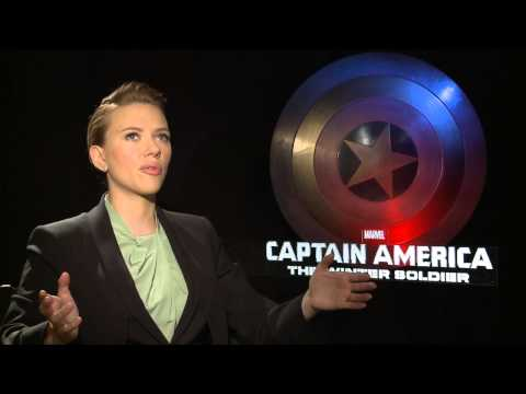 "Captain America: The Winter Soldier: Scarlett Johansson ""Black Widow"" Official Movie Interview"