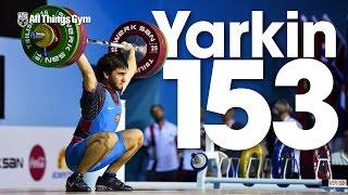 Vyacheslav Yarkin (73.6kg, 18y/o) 153kg Snatch 2016 Junior World Weightlifting Championships