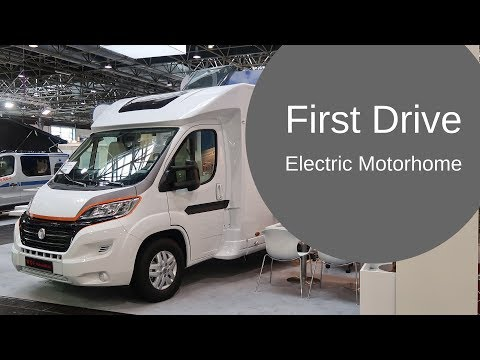 FIRST DRIVE Of ELECTRIC Motorhome RV!
