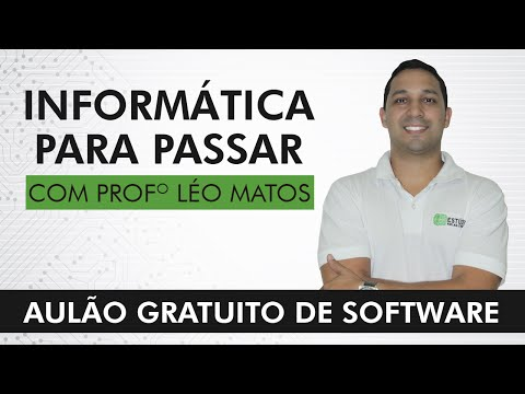 Aulão Gratuito de Software - Professor Léo Matos