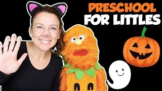 Preschool Videos - Halloween Songs for Kids - Circle Time for Preschoolers - Learning, Movement