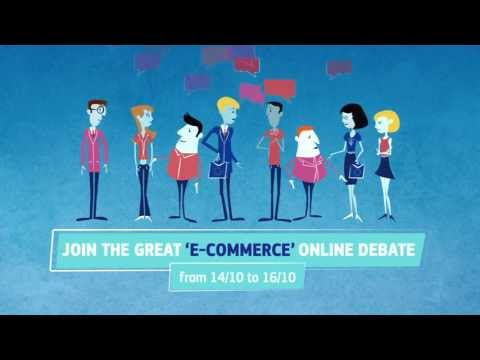 Your Ideas for Europe - Buying, selling and communicating online