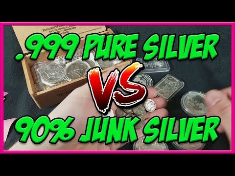 Junk Silver VS .999 Pure Silver | Which is the better investment?