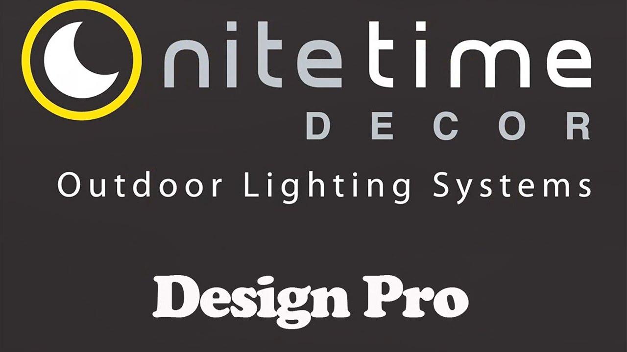Nite time decor design pro lighting design software youtube nite time decor design pro lighting design software aloadofball Image collections