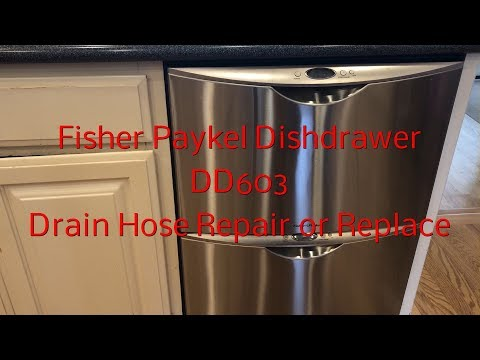 Fisher Paykel Dishwasher DD603 Drain Hose Repair Or Replacement