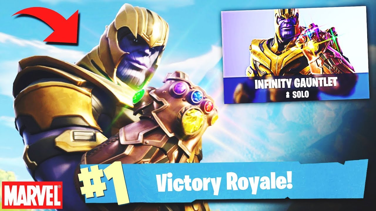 how to get the infinity gsuntlet in fortnite