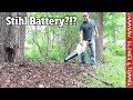 Stihl battery equipment- is it good enough for the lawn care or landscaping pro?!?  Blower, Chainsaw