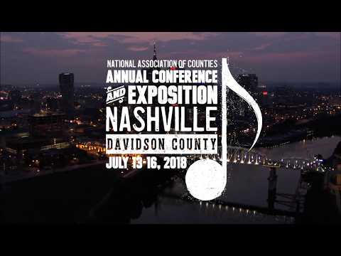 Join Us In Davidson County/Nashville, Tenn. For NACo's 83rd Annual Conference And Exposition