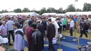 MKA UK Ijtema 2014: Flag Hoisting