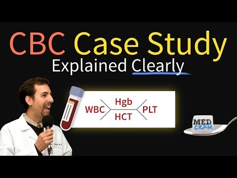 Complete Blood Count (CBC) Case - Lab Results Interpretation: Thrombocytopenia & Leukocytosis