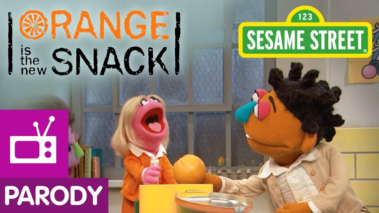 Sesame Street Orange Is The New Snack Orange Is The New