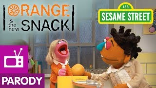 Sesame Street: Orange is the New Snack (Orange is the New Black Parody)