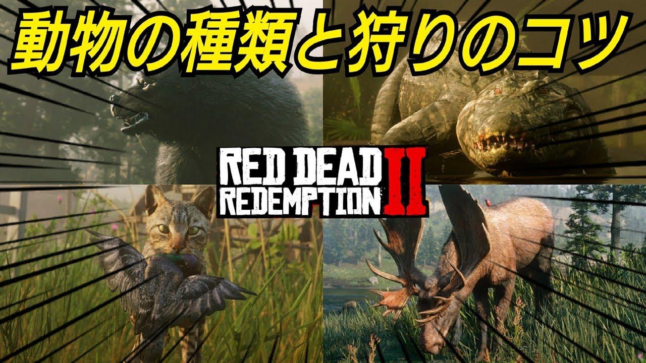 レッド デッド リデンプション 2 攻略 伝説 の 動物