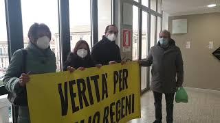 Torna sul municipio di Termoli lo striscione sulla vicenda di Giulio Regeni