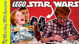 LEGO Star Wars Kessel Run Millennium Falcon Speed Build