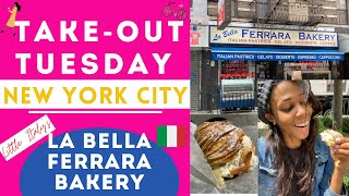 Little Italy's Lobster Tail from La Bella Ferrara Bakery - Take Out Tuesday (NYC)