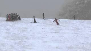 最新 スキー 1級検定 八方尾根 前走 4種目 thumbnail