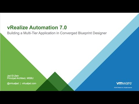 Vra 7 building a multi tier application in converged blueprint vra 7 building a multi tier application in converged blueprint designer malvernweather Image collections