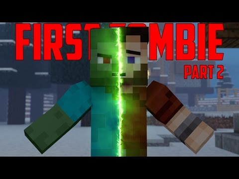First Zombie Part 2 - Minecraft Animation