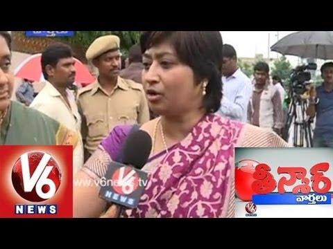 Seemandhra Cong Leaders Wives JAC - Teenmaar News