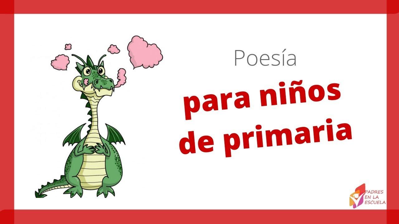 Poemas Cortos Para Niños Poesías Cortas Infantiles