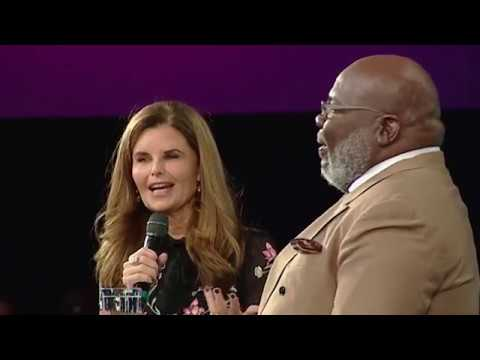 Bishop T.D. Jakes and Maria Shriver discuss