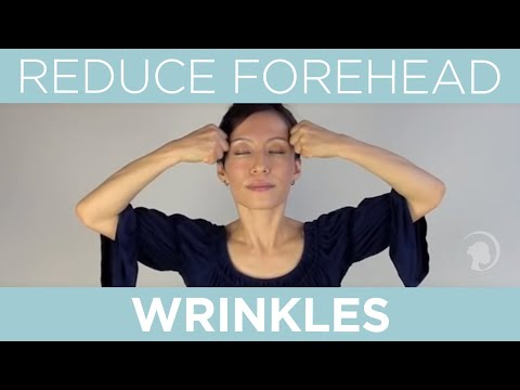Exercises to reduce facial wrinkles