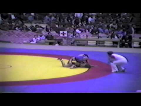 1983 Senior World Championships: 62 kg Dan Cumming (AUS) vs. Lee Roy Smith (USA)