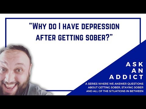 Why Do I Have Depression After Getting Sober?