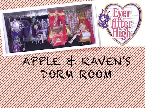 HOW TO MAKE A DORM ROOM FOR APPLE WHITE & RAVEN QUEEN ...