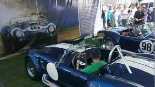 Shelby cobra 427 engine sound LOUD REVS