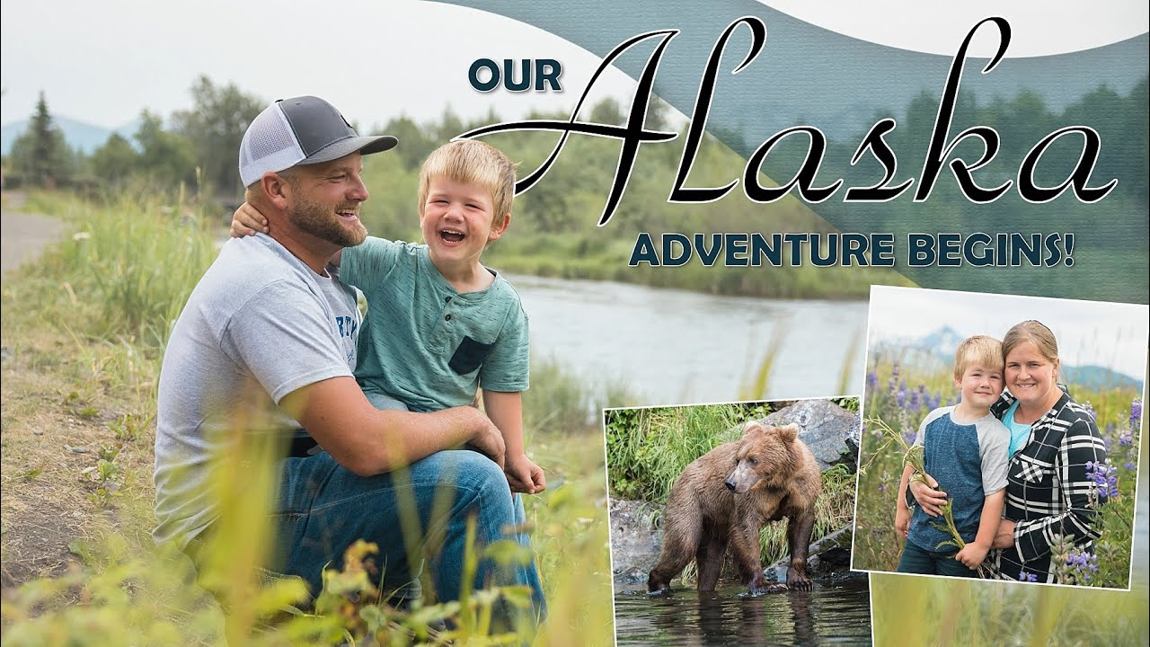 Family Travel 2021 // to ALASKA!! 🦌 🐻 (with a WIRED 4 year old)