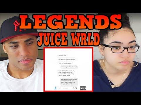 MY DAD REACTS Juice WRLD -