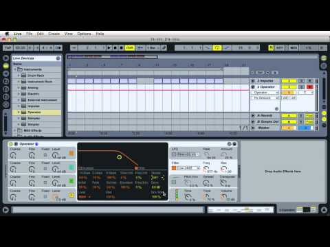 #34 TB-303 with Operator :: Ableton Live