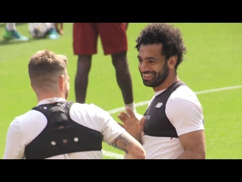 Liverpool Train Ahead Of Champions League Final