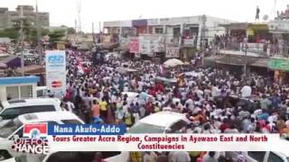 Akufo-Addo gives HOPE to Ayawaso East & Ayawaso North