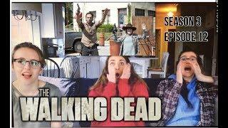 The Walking Dead - 3x12 Clear - Reaction