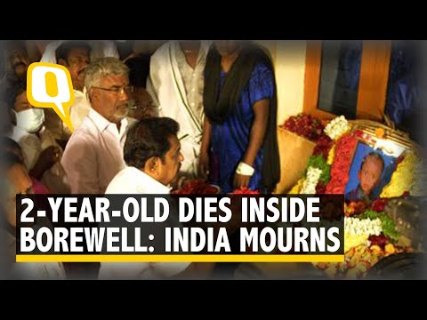 Nation Mourns as 2-Year-Old Sujith Wilson Dies Inside Borewell | The Quint